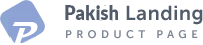 Pakish Landing Product Logo